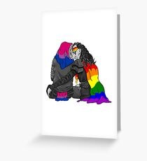 Clexa Pride Greeting Card