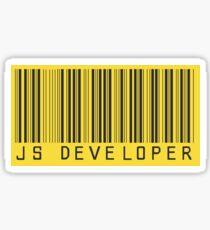 Javascript Developer Barcode Sticker