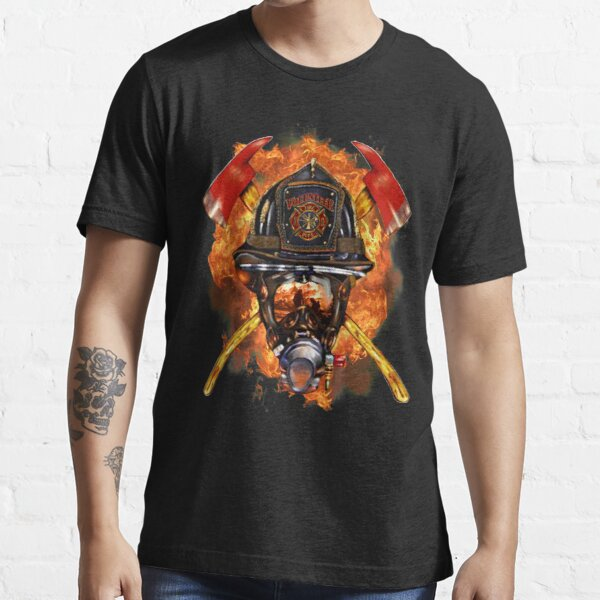 Firefighter The Anonymous Heroes Novelty Gifts. Essential T-Shirt
