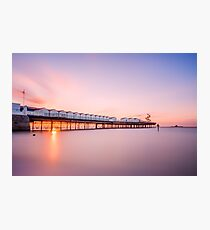 Herne Bay Sunset Photographic Print