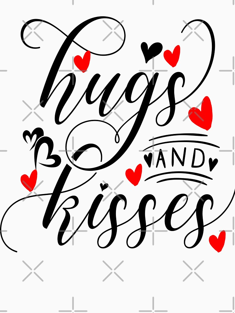 Hugs And Kisses - Valentine Gift by STRADE