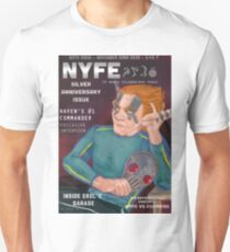 Erol on the cover of NYFE Magazine  T-Shirt
