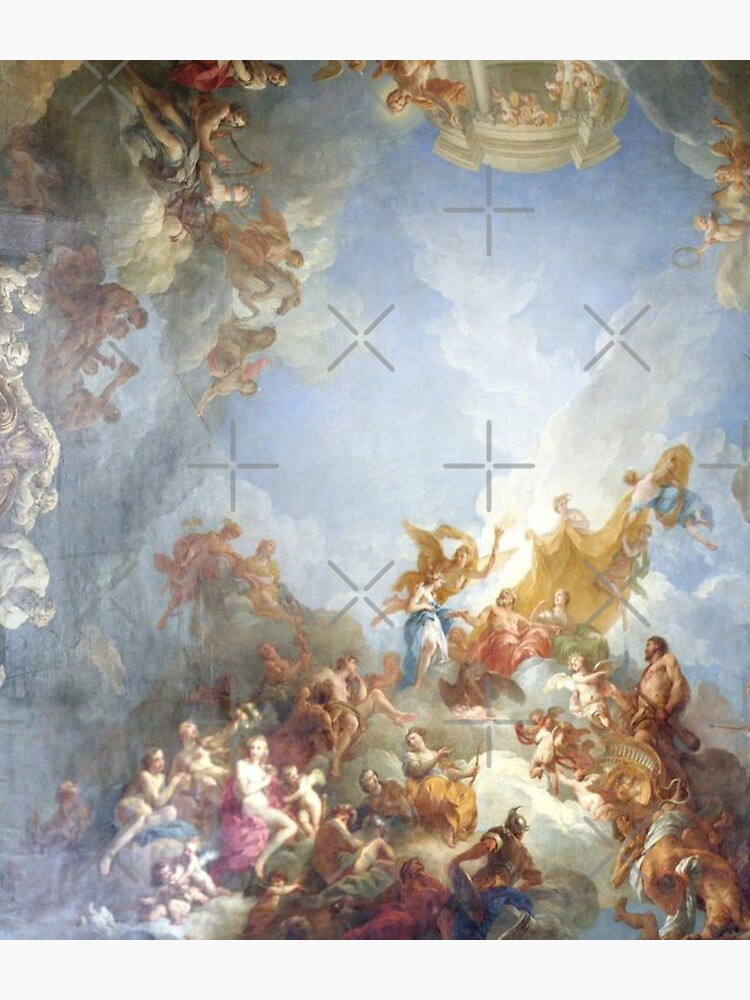 Ceiling at Versaille Renaissance Painting  by Freshfroot