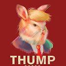 Donald Thump by ninjaink