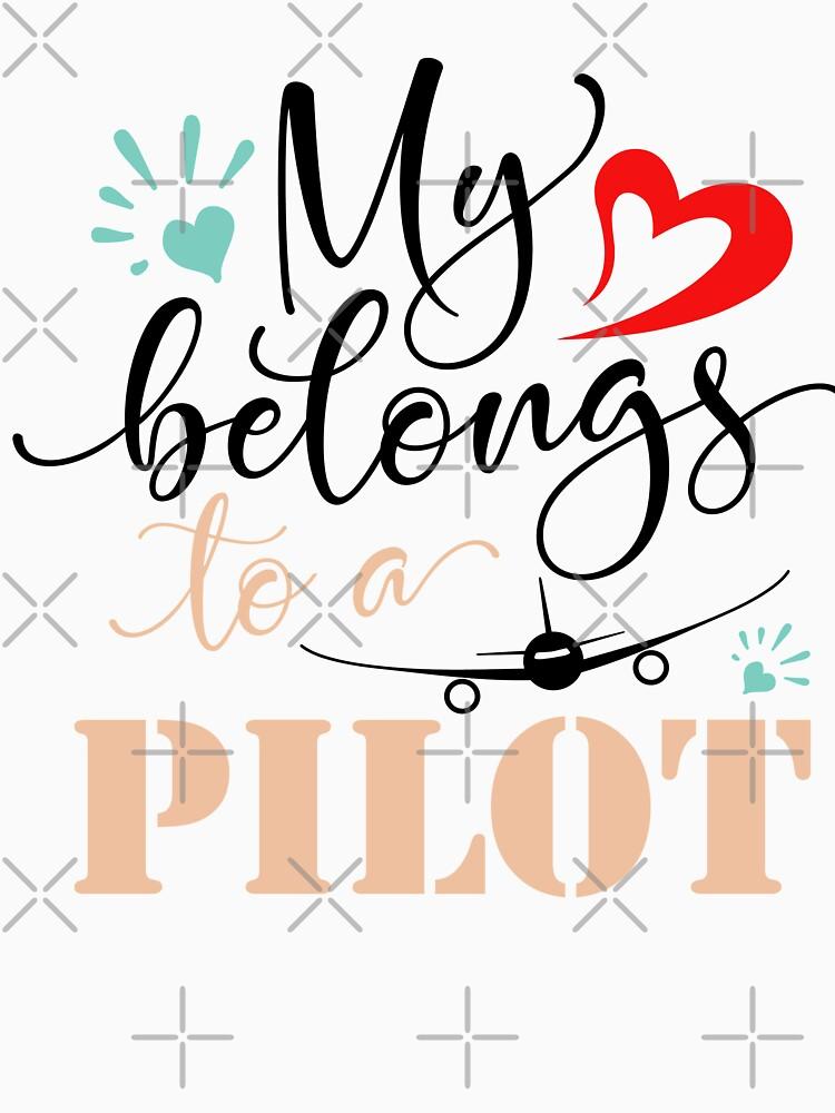 MY HEART BELONGS TO A PILOT by STRADE