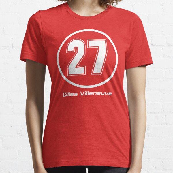 Gilles Villeneuve #27 Essential T-Shirt