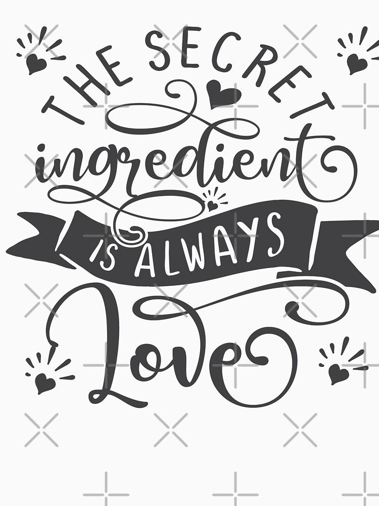 The Secret Ingredient Is Always Love by STRADE