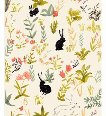 black rabbits  Sticker