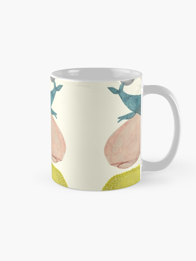 Alternate view of it's raining whales II Mug
