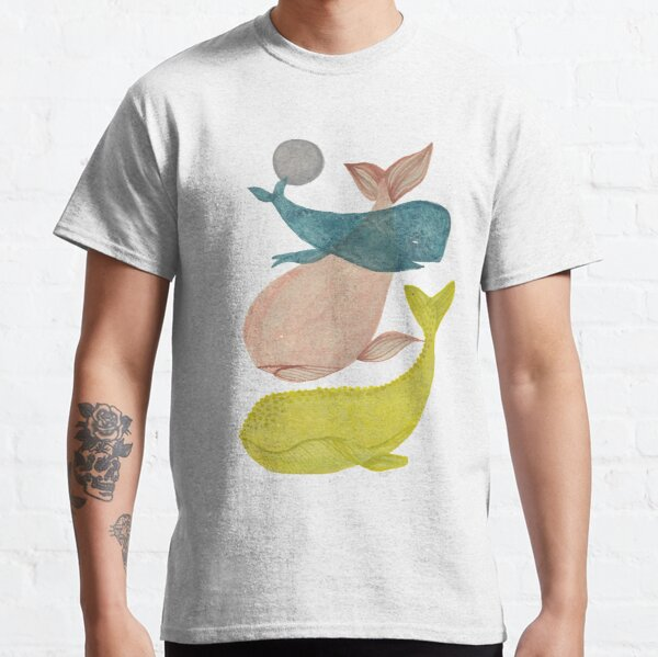 it's raining whales II Classic T-Shirt