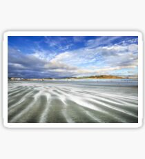 Lyall Bay in Streaks Sticker