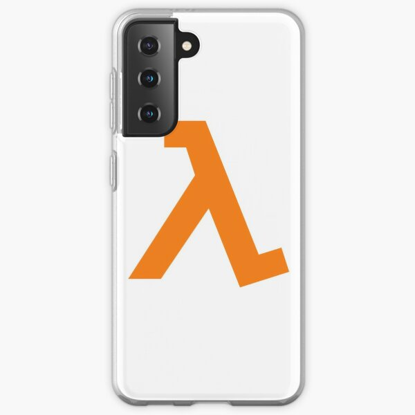 Half-Life - Lambda Symbol Funda blanda para Samsung Galaxy
