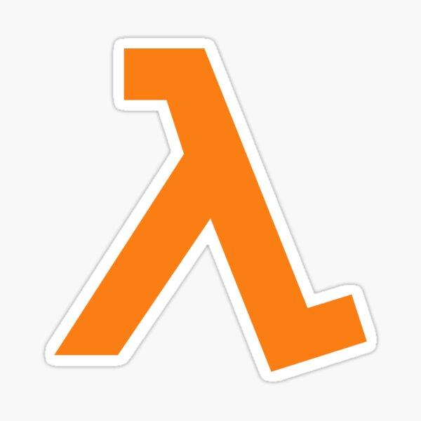Half-Life - Lambda Symbol Sticker