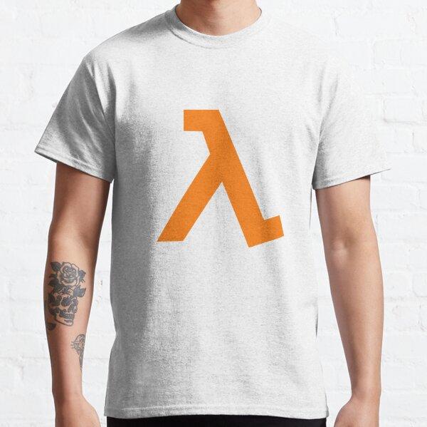 Half-Life - Lambda Symbol Classic T-Shirt