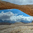 Lathe Arch Between Storms by Mike Herdering