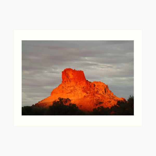 Joe Mortelliti Gallery - Goyder's Pillar, North Simpson Desert, Northern Territory, Australia Art Print