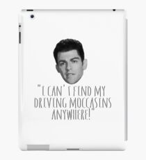 Driving Moccasins iPad Case/Skin