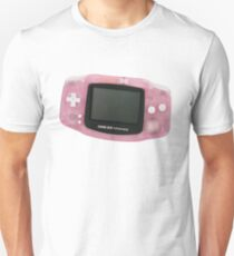 Pink Gameboy Advanced Unisex T-Shirt