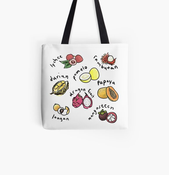 Asian Fruits 2016 All Over Print Tote Bag