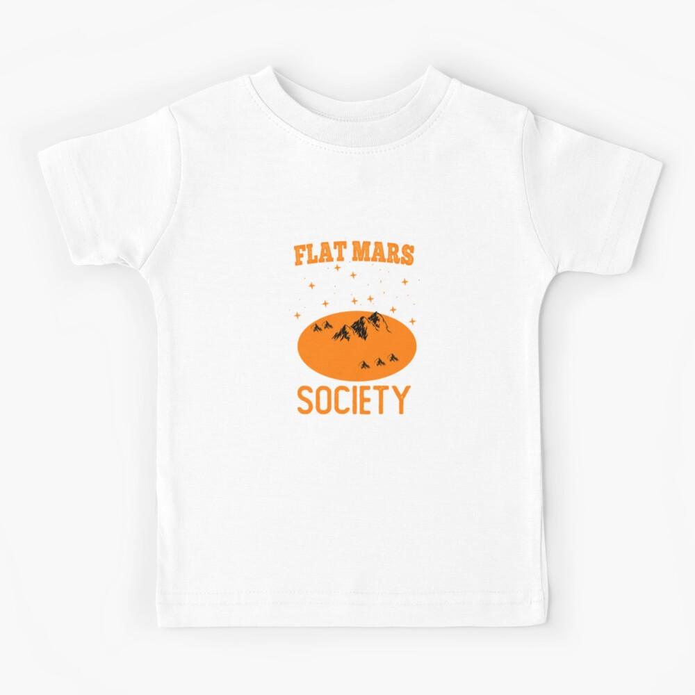 FLAT MARS SOCIETY Short-Sleeve Unisex T-Shirt