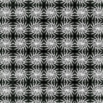 Spinning Stars b&w regular by piciareiss
