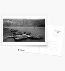 Rowing boats at Oeschinensee  Postcards