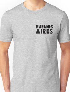 Buenos Aires - Monochrome Unisex T-Shirt