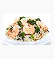 Asian food Photographic Print
