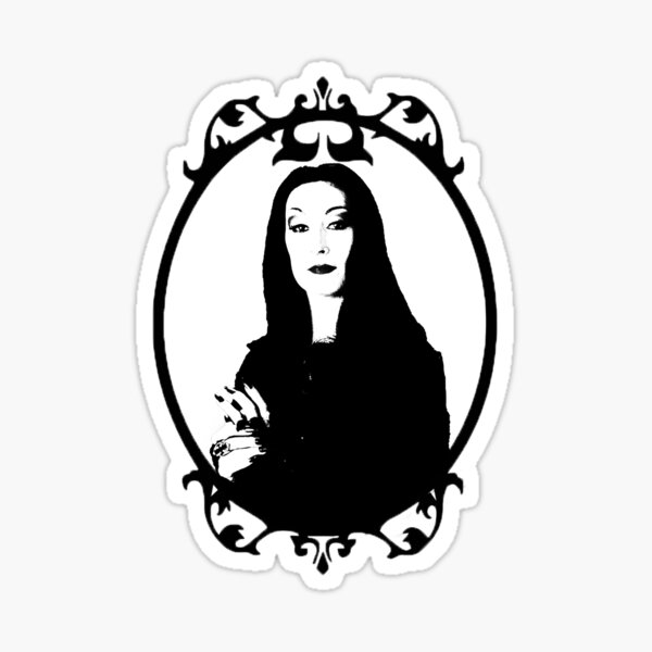 Lady.  Sticker