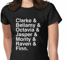 The 100 Team Womens Fitted T-Shirt