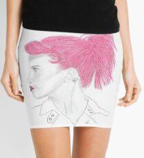 Hayley Williams Pink Mini Skirt