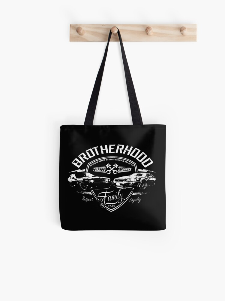 Fast and Furious Brotherhood Duvets & Stickers   Tote Bag