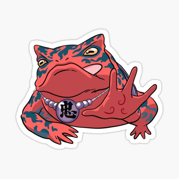 Toad Sage  Sticker