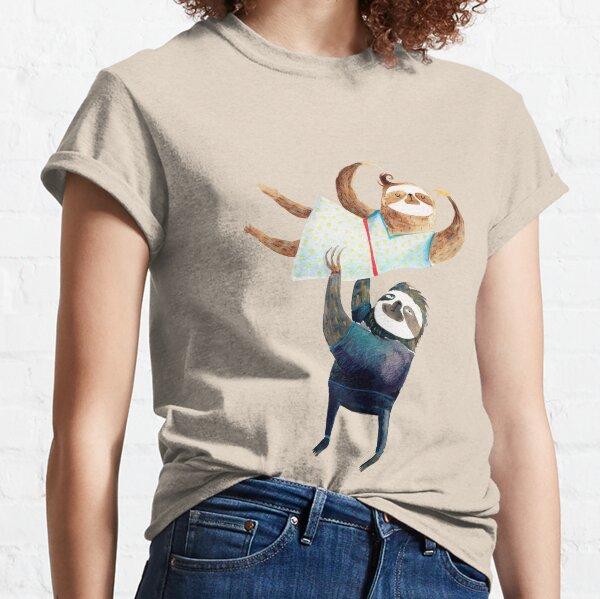Faultier tanzen - Faultierpaar Classic T-Shirt