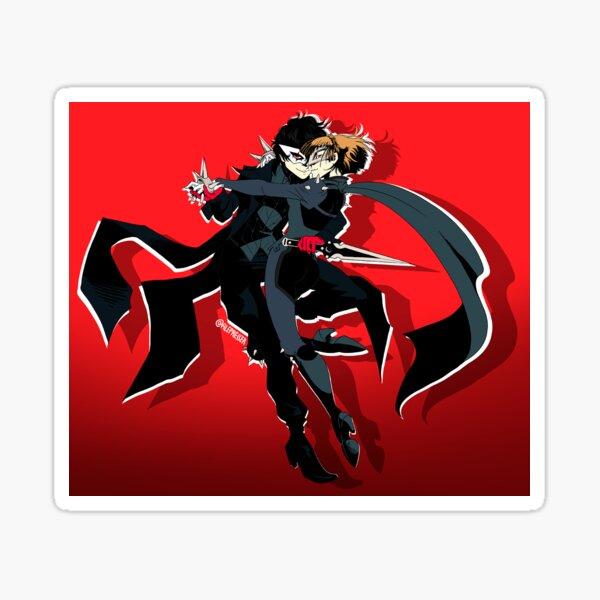 Joker and Queen Sticker