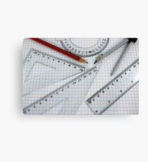 Arcs and Angles Canvas Print