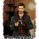"Captain Hook ""I'm Hooked"" Comic Design by Marianne Paluso"