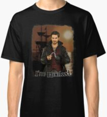 "Captain Hook ""I'm Hooked"" Comic Design Classic T-Shirt"
