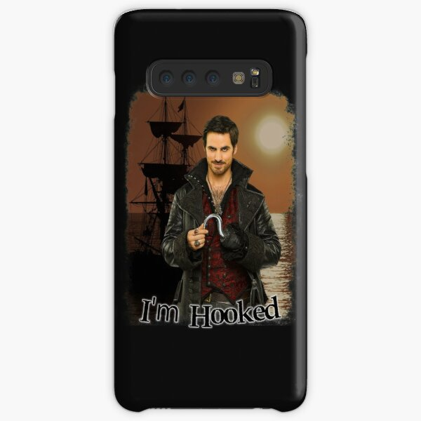 "Captain Hook ""I'm Hooked"" Comic Design Samsung Galaxy Snap Case"