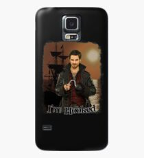 """Captain Hook """"I'm Hooked"""" Comic Design Case/Skin for Samsung Galaxy"""