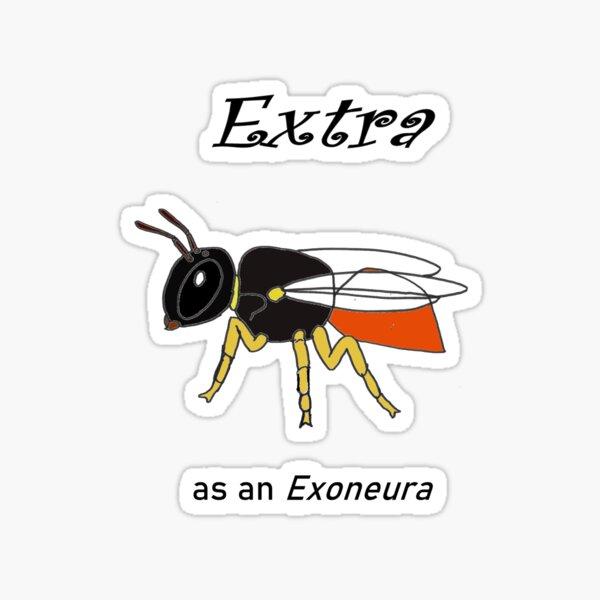 Extra como exoneura Pegatina