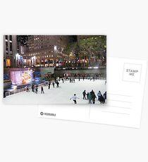 Rockefeller Center Skating Rink Postcards