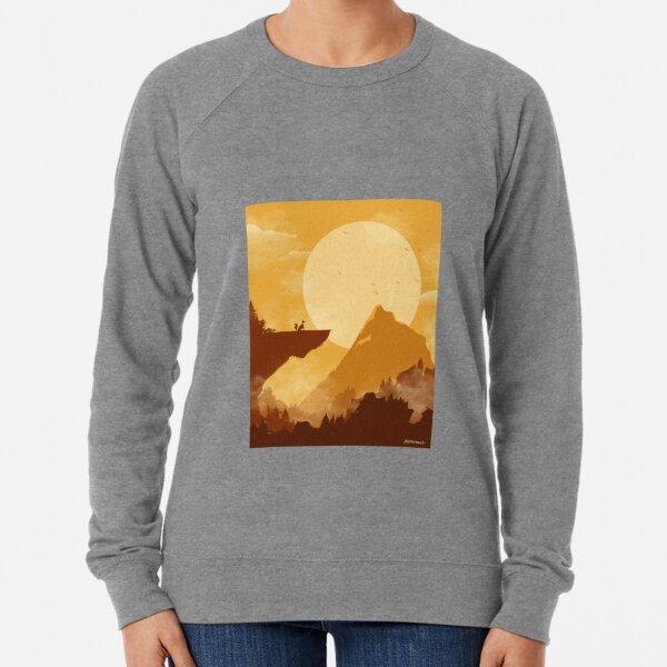 sunset valley Lightweight Sweatshirt
