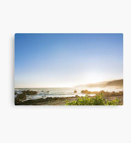 Coastal Afternoon Sunset Canvas Print
