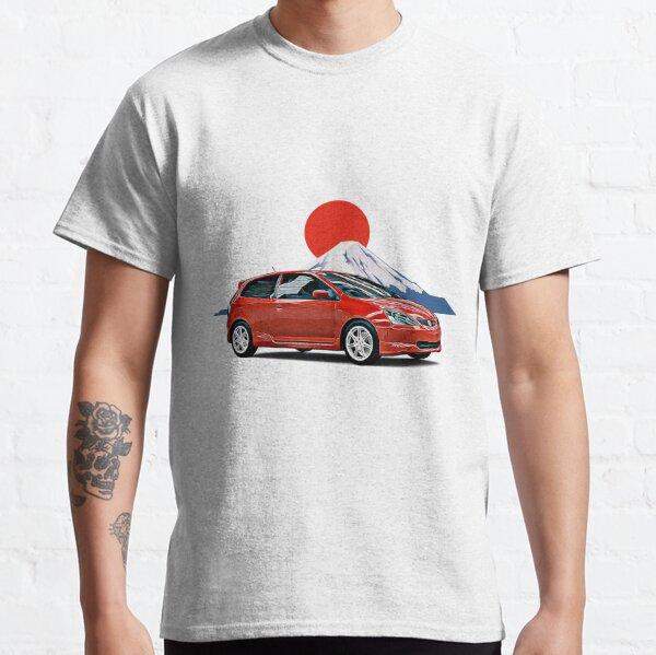 EP3 Civic Fuji JDM Japon Imprimer T-shirt classique