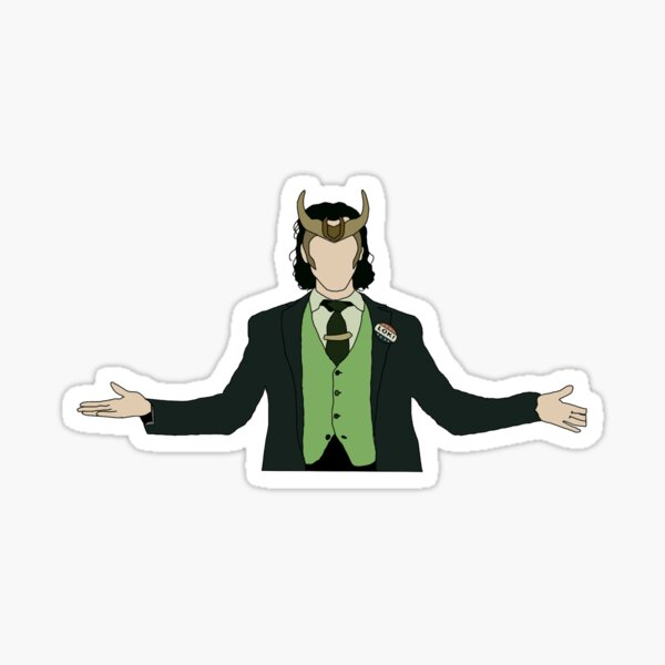 Loki in the Loki series Sticker