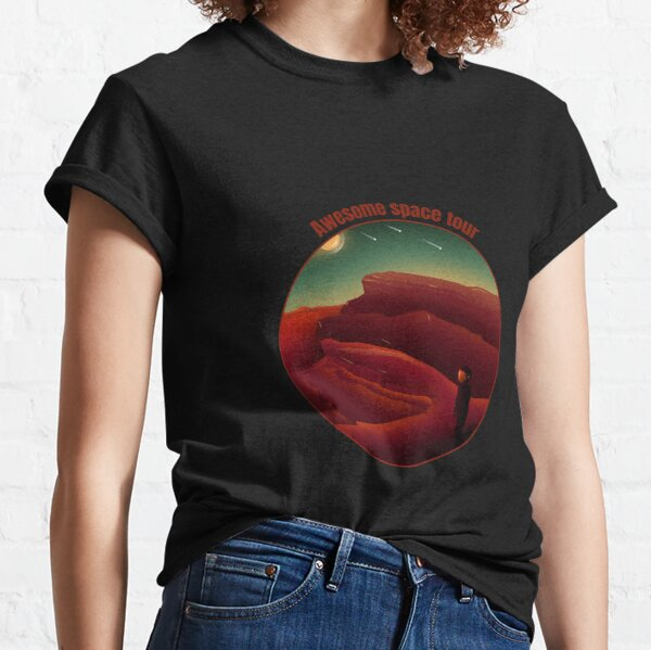 Awesome Space Tour Classic T-Shirt