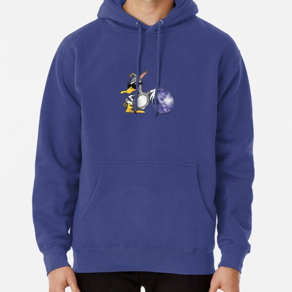 Easter Bunny Duck Pullover Hoodie