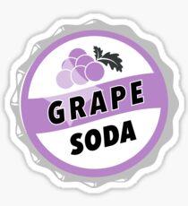 Grape Soda : UP Bottle Cap Sticker