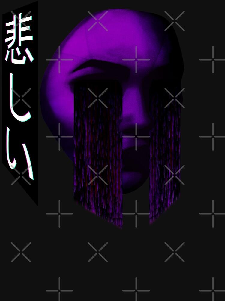 Sad Japanese Aesthetic - Vaporwave Sadness by RabbitLair